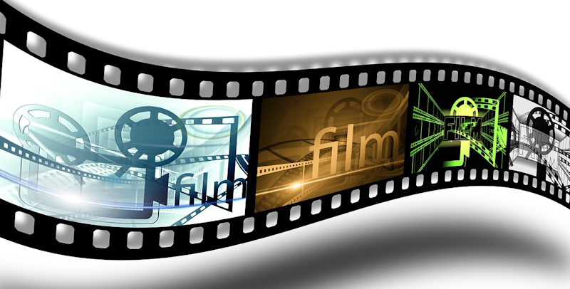 wavy stylized image of film