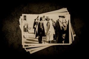 old sepia and black and white photos
